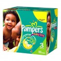 418 Couches Pampers Baby Dry taille 3