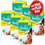 350 Couches Pampers New Baby Premium Protection taille 3