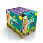 720 Couches Pampers Baby Dry taille 4+