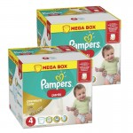 132 Couches Pampers Premium Care Pants taille 4