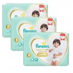 Mega pack 144 Couches Pampers de Premium Care Pants sur auchan