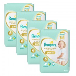 216 Couches Pampers Premium Care Pants taille 6
