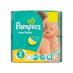 Mega pack 80 Couches Pampers New Baby taille 2