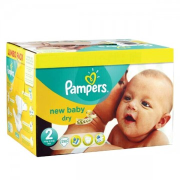 640 Couches Pampers New Baby Premium Protection taille 2
