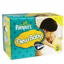 Pack jumeaux 720 Couches Pampers New Baby Premium Protection taille 2
