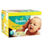 800 Couches Pampers New Baby taille 2