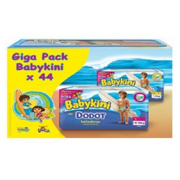 44 Couches de bains Dodot Baby Kini taille 5