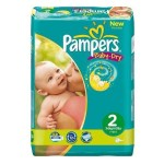 Pack de 48 Couches Pampers Baby Dry sur layota