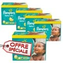 272 Couches Pampers Baby Dry taille 5+