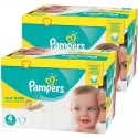 192 Couches Pampers New Baby Premium Protection taille 4