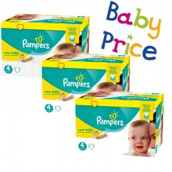 256 Couches Pampers New Baby Premium Protection taille 4