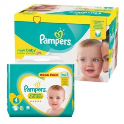 640 Couches Pampers New Baby Premium Protection taille 4