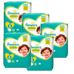 224 Couches Pampers New Baby Premium Protection taille 6