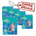 294 Couches Pampers Active Baby Dry taille 6