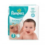32 Couches Pampers ProCare Premium protection taille 3