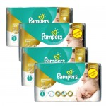 242 Couches Pampers New Baby Premium Care taille 1