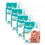 108 Couches Pampers ProCare Premium protection taille 2