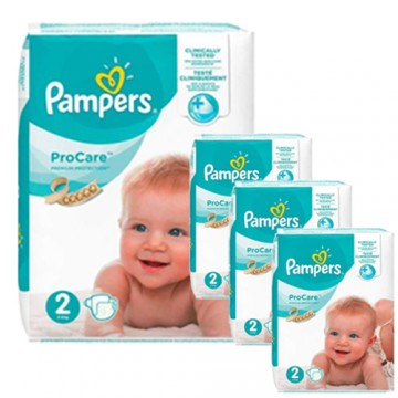 144 Couches Pampers ProCare Premium protection taille 2