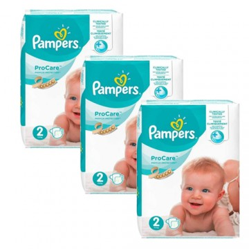 432 Couches Pampers ProCare Premium protection taille 2