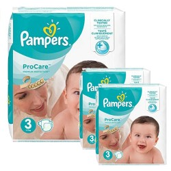 96 Couches Pampers ProCare Premium protection taille 3