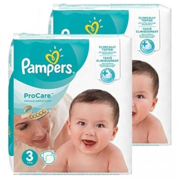 448 Couches Pampers ProCare Premium protection taille 3