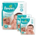 480 Couches Pampers ProCare Premium protection taille 3