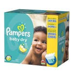 Maxi Pack de 340 Couches Pampers de Baby Dry sur layota