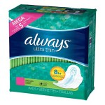 Maxi Pack de 80 Serviettes hygiéniques Always Ultra Thin sur auchan