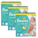 442 Couches Pampers Active Baby Dry taille 4