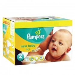 656 Couches Pampers New Baby Premium Protection taille 2