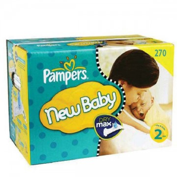 820 Couches Pampers New Baby Premium Protection taille 2
