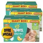 407 Couches Pampers Active Baby Dry taille 5