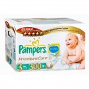 40 Couches Pampers Premium Care taille 3