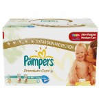 280 Couches Pampers Premium Care taille 3