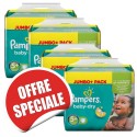100 Couches Pampers Baby Dry taille 5+