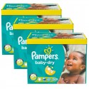 375 Couches Pampers Baby Dry taille 5+