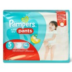 64 Couches Pampers Baby Dry Pants taille 5