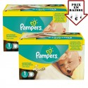 144 Couches Pampers New Baby Premium Protection taille 1