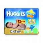 Pack de 64 Lingettes Bébés d'Huggies Unistar sur layota