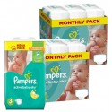 408 Couches Pampers Active Baby Dry taille 3
