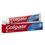 Tube des Dentifrices de Colgate Cavity Protection sur amazon