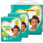 408 Couches Pampers New Baby Premium Protection taille 5