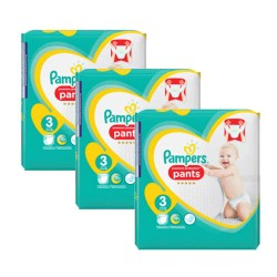 175 Couches Pampers Premium Protection Pants taille 3