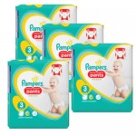 310 Couches Pampers Premium Protection Pants taille 3