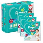 204 Couches Pampers Baby Dry Pants taille 5+
