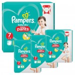 174 Couches Pampers Baby Dry Pants taille 7