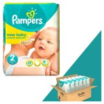 198 Couches Pampers New Baby Dry taille 2