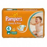 68 Couches Pampers Sleep & Play taille 4
