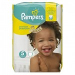 136 Couches Pampers New Baby Premium Protection taille 5