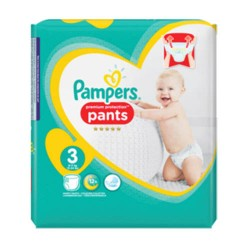 35 Couches Pampers Premium Protection Pants taille 3